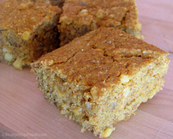 Quinoa Cornbread - Straight Up Food
