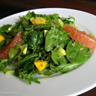 Spinach & Mango Salad