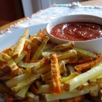Salt-free Ketchup & Baked French Fries