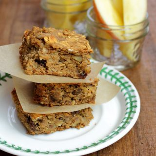 Banana-Walnut Bars