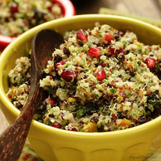 Quinoa Salad with Currants and Pistachios