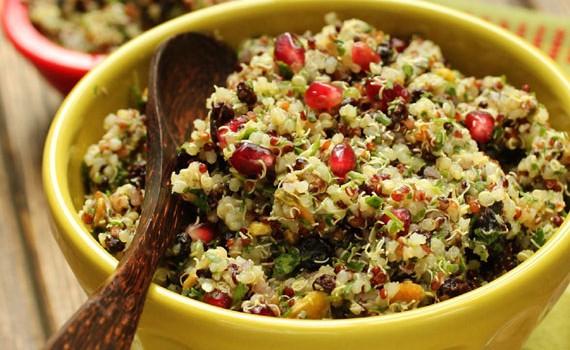 Quinoa Salad with Currants and Pistachios