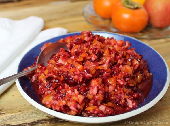 Cranberry-Persimmon Relish