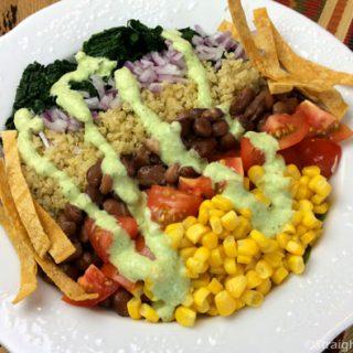 Quinoa-Kale Bowl