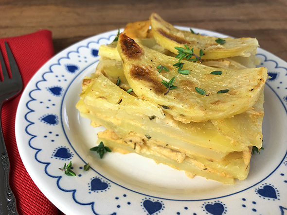 Straight up food healthy and delicious vegan recipes using no scalloped potatoes forumfinder Choice Image