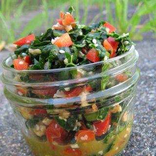 Kale Basil Salad