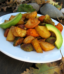 Spicy Root Vegetable Medley