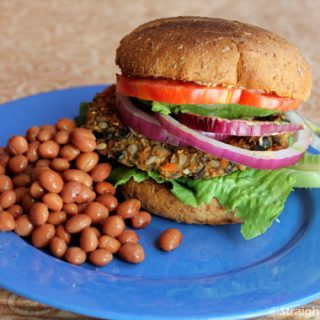 Cuban Black Bean Burgers