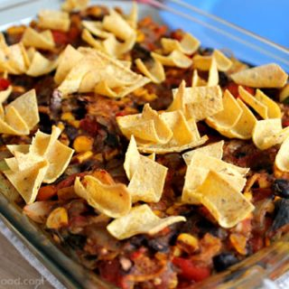 Enchilada Casserole from StraightUpFood.com