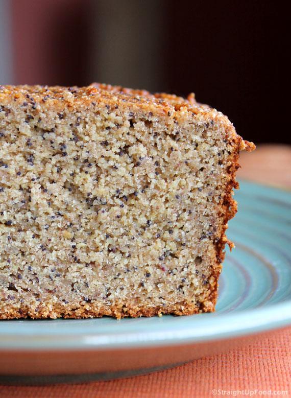 Almond Poppy Seed Cake