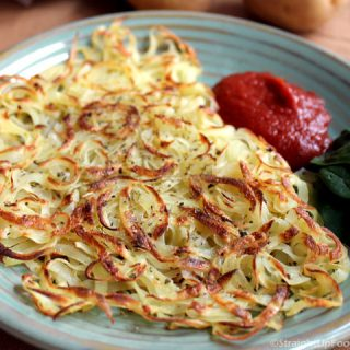 Oil-free Hash Browns