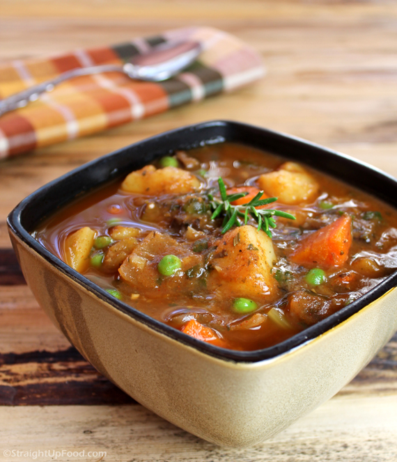Beefless Stew - StraightUpFood.com