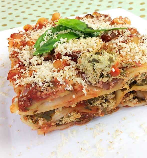 Lasagna Slice (by StraightUpFood)