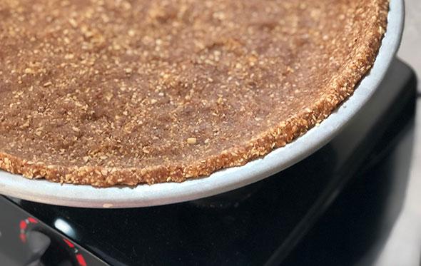 No-bake Pumpkin Cream Pie