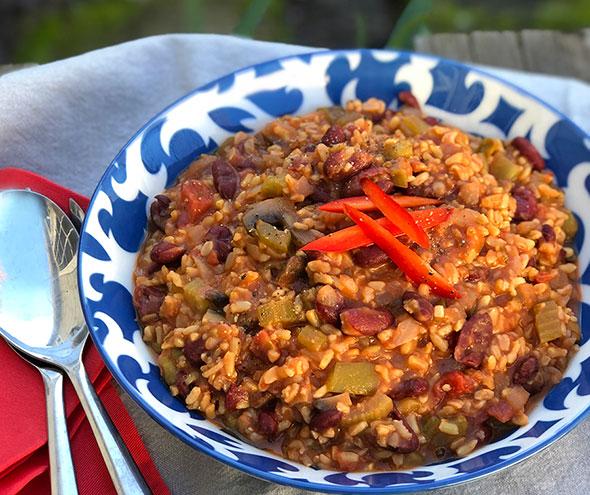 Jambalaya Stew by Straight Up Food