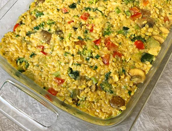 Curry-Rice-Casserole