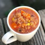 Red Lentil & Quinoa Soup
